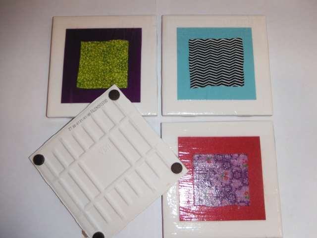 Fabric and Paper Coasters