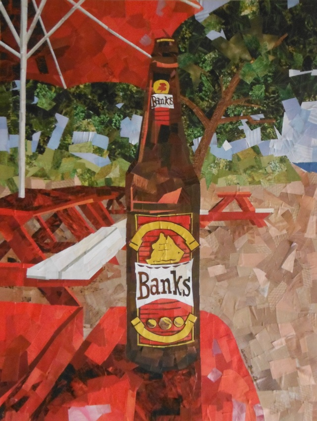 Banks Beer Paper Picture
