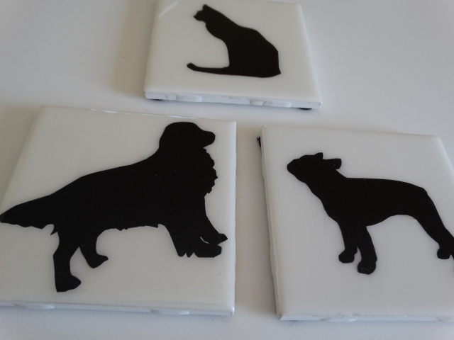 Animal Silhouette Coasters